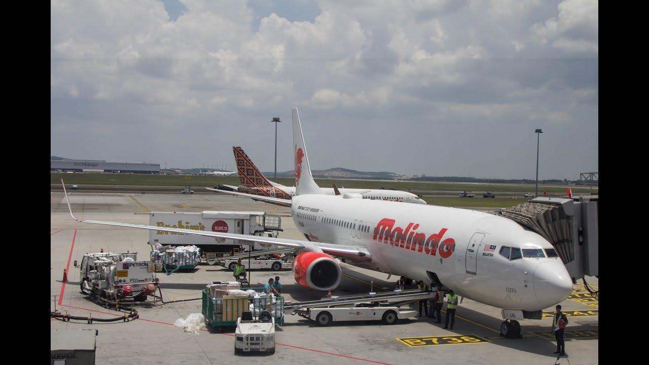 Malindo Air: Malindo Air B737 (800 & 900)