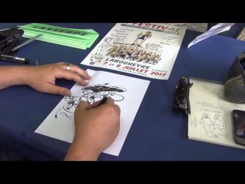 Festival du dessin de presse et d'humour de Labouheyre / Reportage CCHL