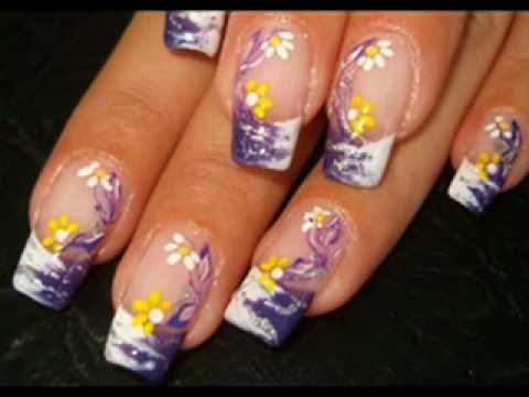 summer nail art designs 2010  youtube