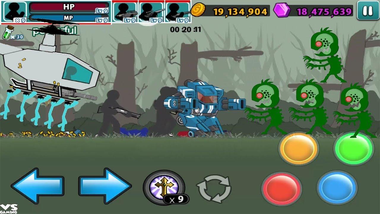 download game anger of stick 5 mod apk terbaru