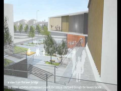 Kimmel Eshkolot Architects - Rehovot Community Center
