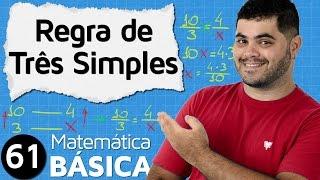 🔴 REGRA DE TRÊS SIMPLES E COMPOSTA (parte 1) | MAB #61 thumbnail