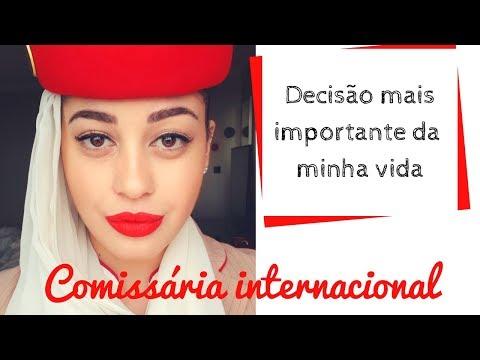 COMO EU RESOLVI VIRAR COMISSÁRIA DA EMIRATES? | Não Perturbe!
