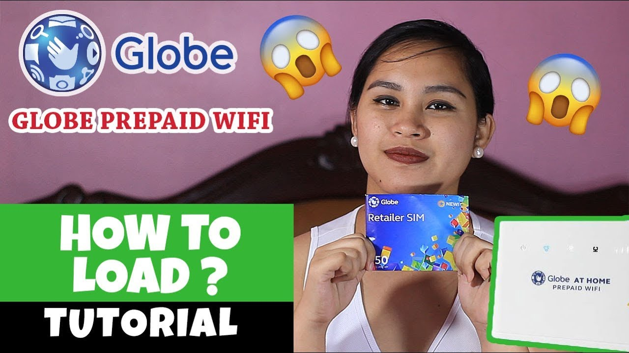 How to load Your Globe at Home Prepaid Wifi 2018