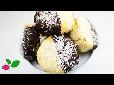 🥥🌴 Coconut Balls | Sugar & Gluten Free | Flourless | Yo +Green