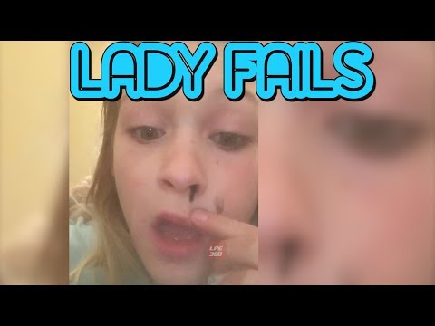 Lady Fails Compilation || Funny Videos
