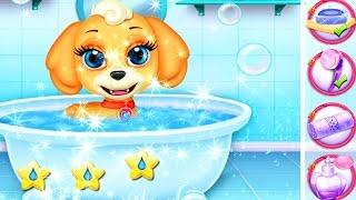 ЩЕНЯЧИЙ ПАТРУЛЬ Играй с милым щенком СКАЙ домашиние животные В ванной #Мультики игра для детей