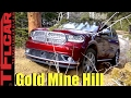 2017 Dodge Durango Takes on a Snowy Gold Mine Hill Off-Road Review