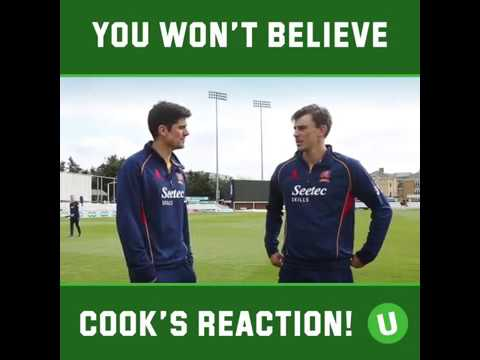 alastair cook stunning catch during interview