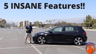 2017 Volkswagen Golf GTI - 5 INSANE Features