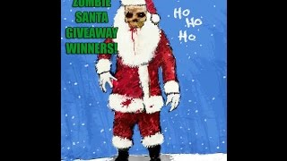 The Secret Zombie Santa 2016 Giveaway Winner Announcement