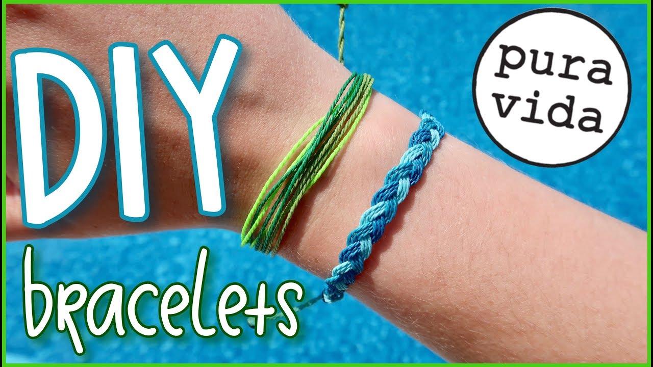Pura Vida Inspired Bracelets