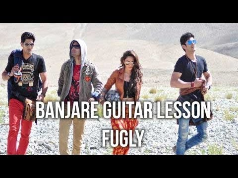 Banjarey Guitar Chords & Solo Lesson, FUGLY