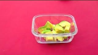 Eine Avocado richtig essen - so geht's