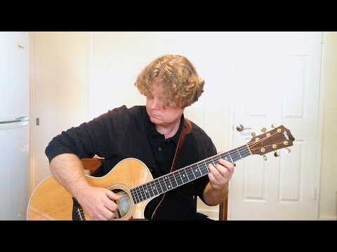I'm on Fire by Bruce Springsteen - Fingerstyle Guitar Cover (Taylor 412ce)