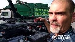 TNCleanFuels checks out Waste Management's amazing CNG fleet in Nashville, TN