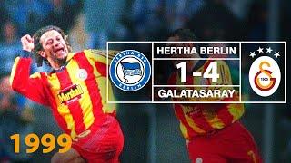 Nostalji Maçlar | 1999-2000 Sezonu Herta Berlin 1 - 4 Galatasaray