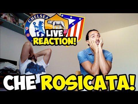 [ROSICHIAMO MALEE!!] ROMA-CHELSEA-ATLETICO MADRID [LIVE REACTION SORTEGGI]