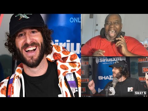 Dad Reacts to Lil Dicky Freestyle on Sway In The Morning!