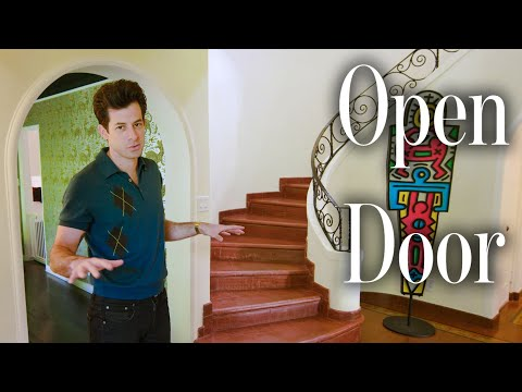 Inside Mark Ronson's Spanish-Style LA House | Open Door | Architectural Digest
