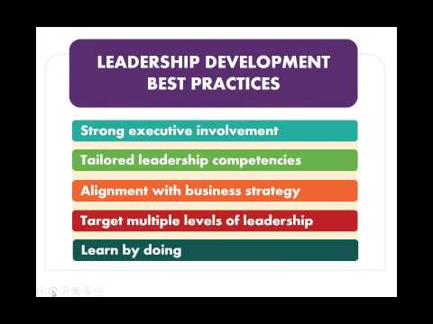 5 Ways to Build a Better Leadership Development Program | Webinar 12.05.14