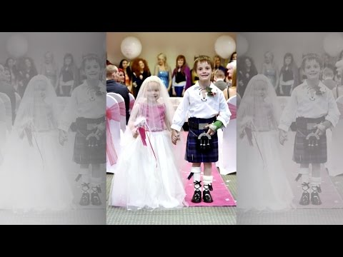 Thumbnail: 5-Year-Old Terminally Ill Girl Marries Best Friend As Part Of Bucket List Wish