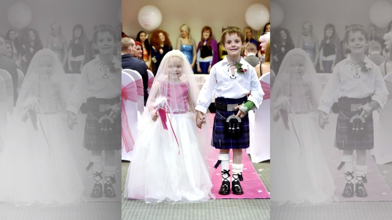 5-Year-Old Girl With Terminal Cancer Gets Married to Best Friend