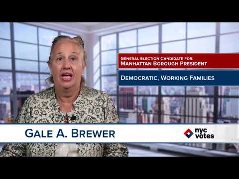 Gale Brewer: Candidate for Manhattan Borough President