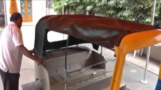 3 WHEELER AUTORICKSHAW HOOD FITMENT BY MOULDERS INDIA
