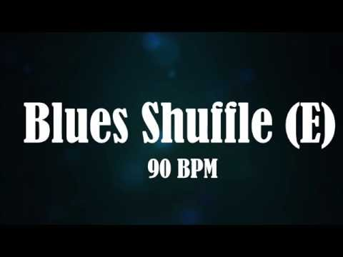 Chicago Blues Shuffle Backing Track (E)