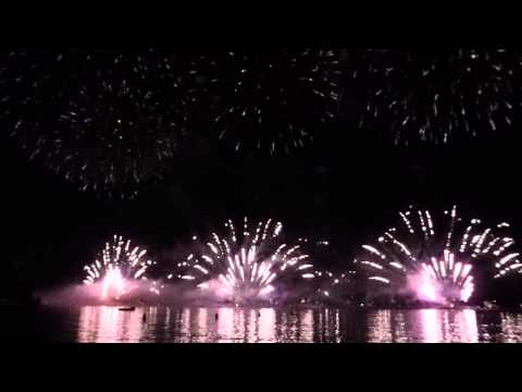 7th August 2015 - Cannes Fireworks - England