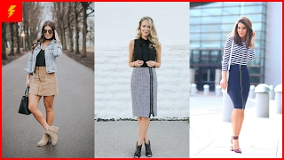 How to Wear Sexy Zip Skirt