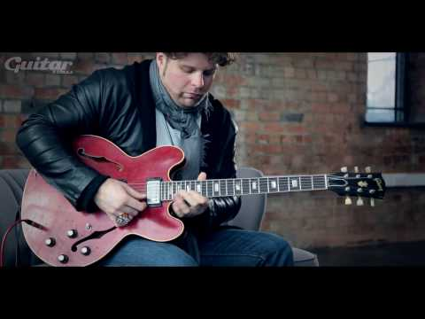 JD Simo talks Gibson ES-335 tone, tips and technique