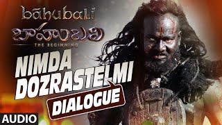 Nimda Dozrastelmi  Dialogue || Baahubali || Prabhas, Rana , Anushka Shetty, Tamannaah Bhatia.