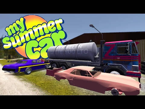 CUSTOM EVERYTHING + Fleetari Wants The Muscle Car Back - My Summer Car Gameplay Highlights Ep 44