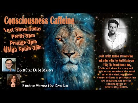 Imagine a World Without Money with Colin Turner on Consciousness Caffeine