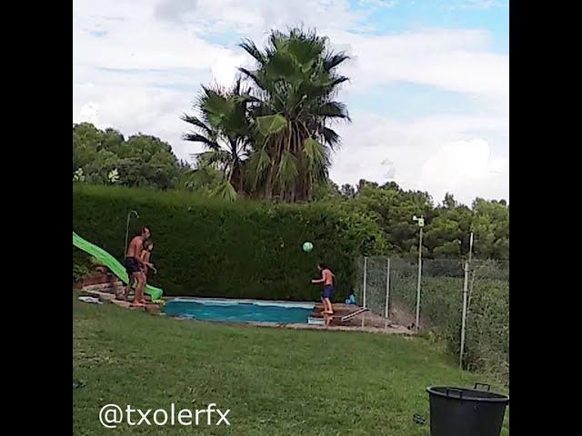 Amazing football trick