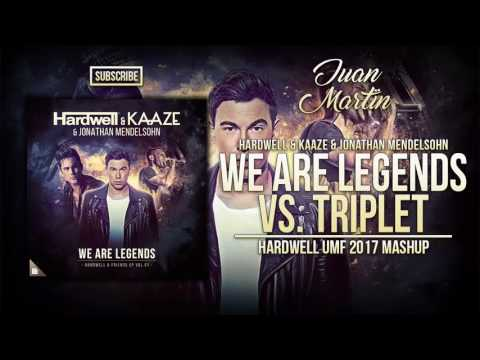 We Are Legends vs. Triplet vs. Cold As Ice vs. Be (Hardwell UMF 2017 Mashup)