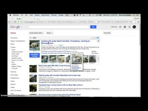 Google News Tutorial