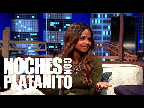 Christina y Carmen Milian Habla De Su Reality Show Turned Up  Noches Con Platanito Ep 249
