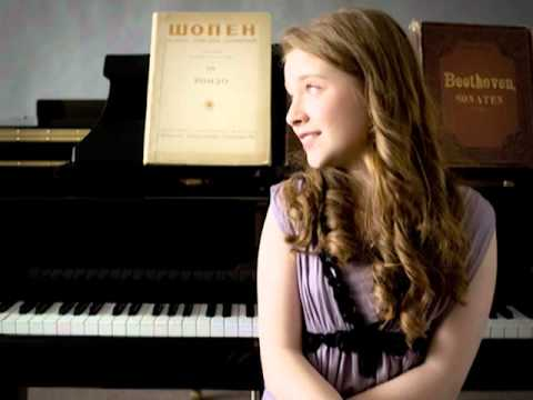 Anastasia Rizikov (12 years old) plays F. Chopin Rondo in C Minor, Op. 1 (audio)