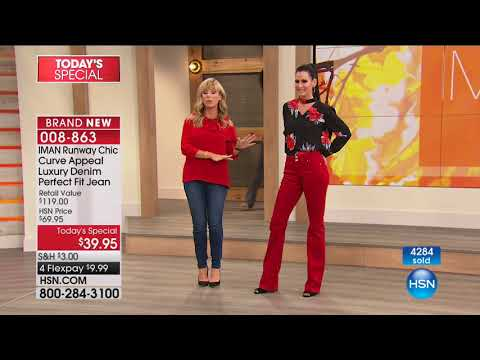 HSN | IMAN Global Chic Fashions 08.26.2017 - 12 AM