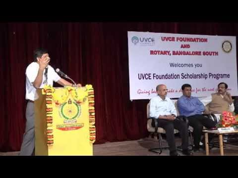 UVCE Foundation Scholarship Programme 2014-15