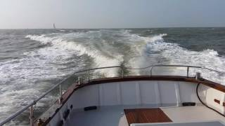 Lochin 33 doing full speed after refit