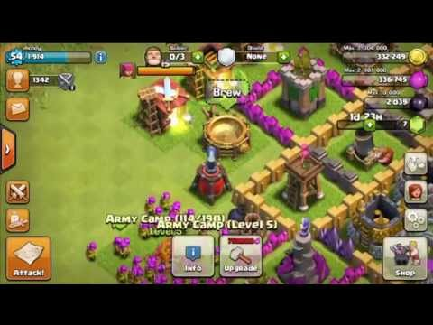 Clash Of Clans - GAME - ATTACK - DEPLOY TROOPS - HD