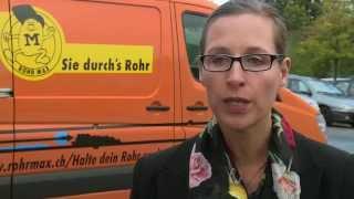 Swisscom mit RohrMax und XOR Satwork am Schweizer KMU-Tag