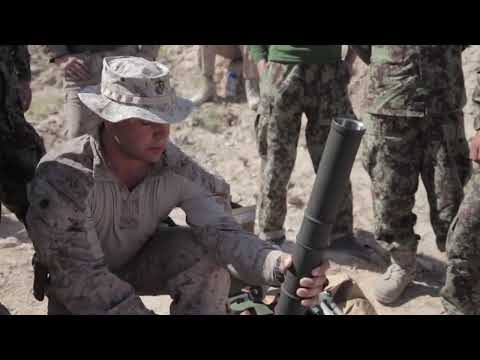 M224 60mm Mortar System Training for ANA