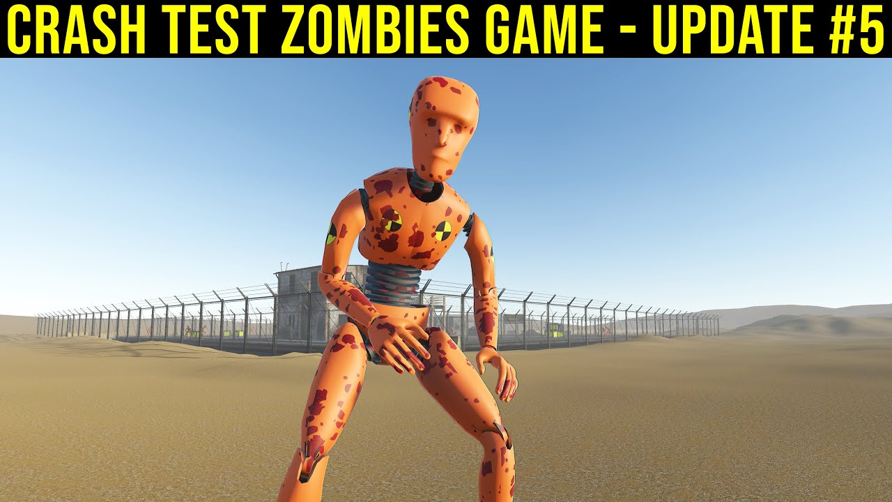 Crash Test Zombies Game – Progress & Update #5 | Demolition Republic