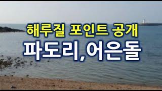 해루질 포인트 공개 7탄 - 파도리, 어은돌 해수욕장 …