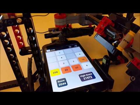 2048 Stormer: Robot Solving The Game With Lego Mindstorms And Java